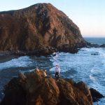 1988-11-Monterey-109-PfeifferBigSurStateBeach-KarenBerrow-KathyCrawford